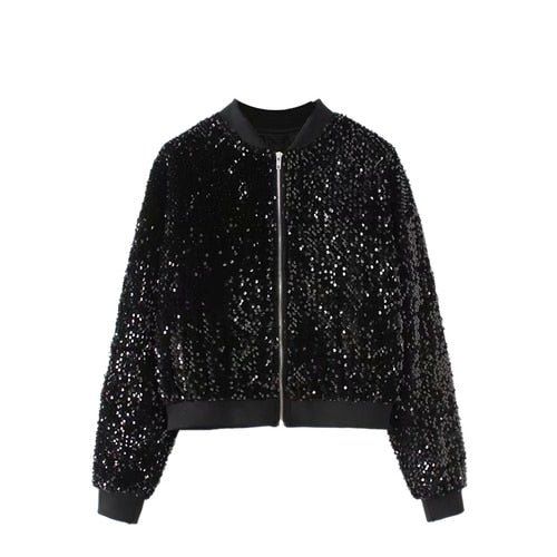 Vintage Chic Sequined Jacket - Wildly Untamed
