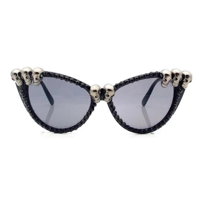 Rebel One Skull Sunglasses - Wildly Untamed