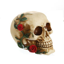 Load image into Gallery viewer, Red Rose Death Skull - Wildly Untamed
