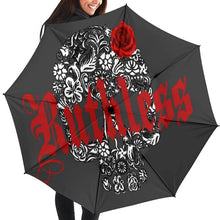 Load image into Gallery viewer, Ruthless Skull Umbrella - Wildly Untamed