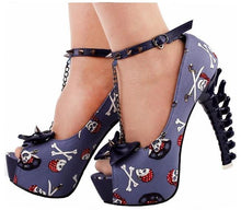 Load image into Gallery viewer, Punk Circus Peep-toes - Wildly Untamed