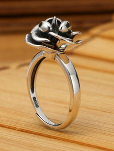 Spiked Rose Ring - Wildly Untamed