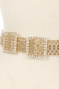 Square Strand Chain Belt - Wildly Untamed