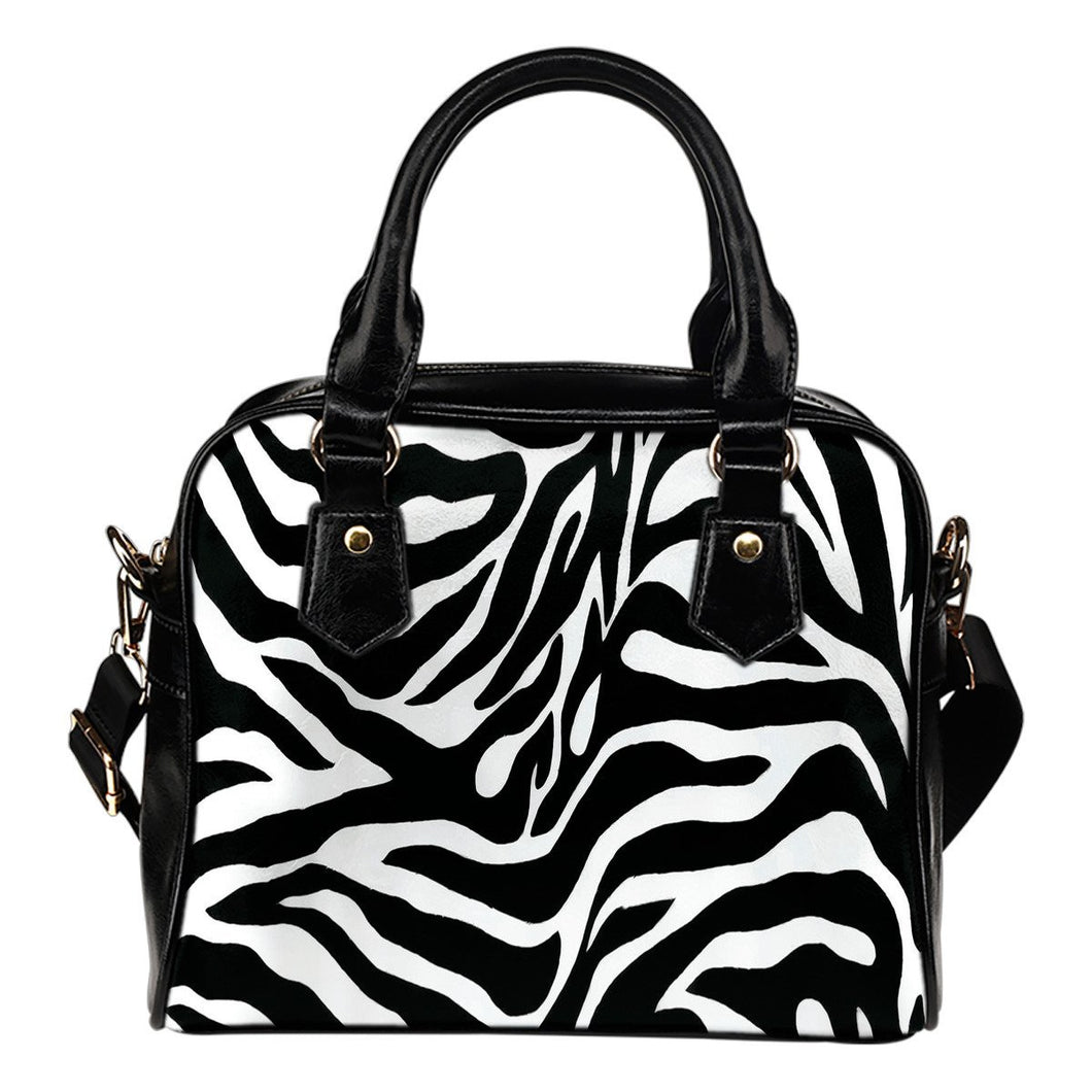 Zebra Shoulder Bag - Wildly Untamed