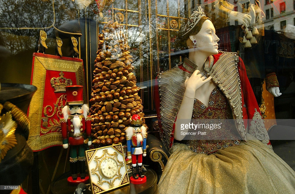 christopher ross for bergdorf goodman christmas holiday window 12/03