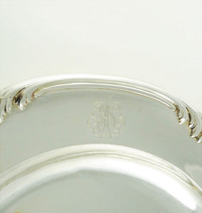Fine French Sterling Silver Tray or Platter by ODIOT, Paris Late 19th Century - 43 Chesapeake Court Antiques