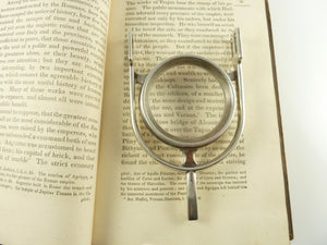 Silver Magnifying Glass Spur Shaped Equestrian Interest - 43 Chesapeake Court Antiques