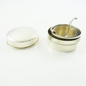 Antique Sterling Silver Collapsible Traveling Cup or Beaker - 43 Chesapeake Court Antiques