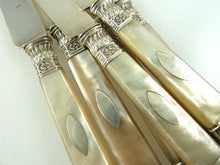 Load image into Gallery viewer, Antique French Silver & Mother of Pearl Cutlery, C 1820 - 43 Chesapeake Court Antiques
