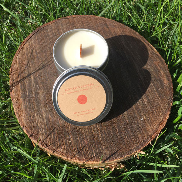 Travel Candle - Tobacco & Amber