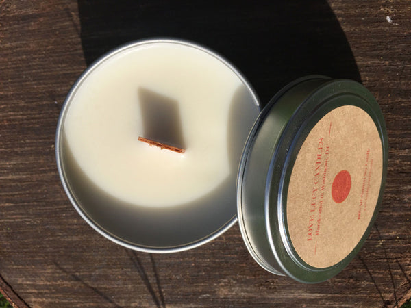 Travel Candle - Coriander & Tonka