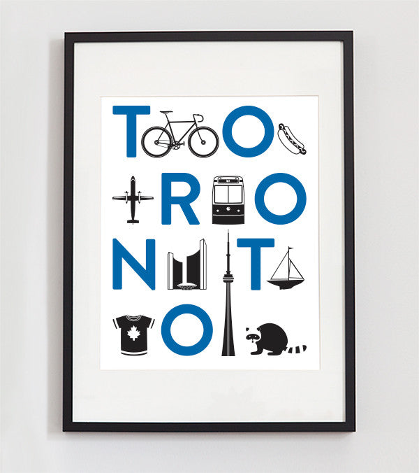The New Toronto City Print & Free Shipping!