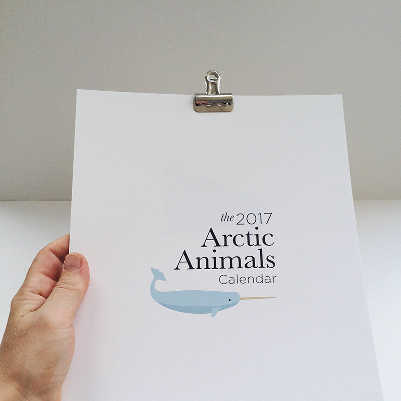 2017 Arctic Animals Calendar
