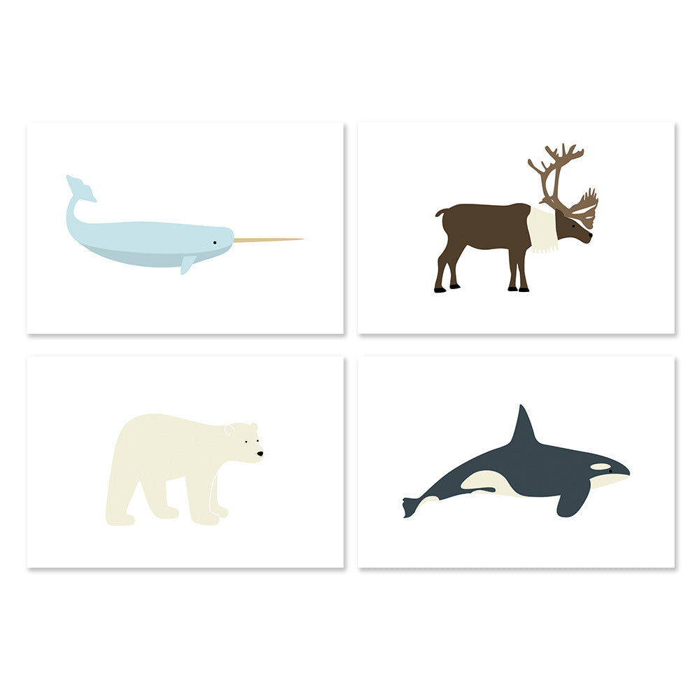 Arctic Animal Boxed Cards