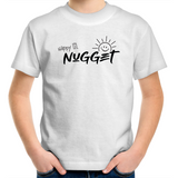 Happy Lil Nugget Kids T-Shirt - White - Nugget Industries