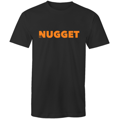 Shout Orange T-Shirt - Black - Nugget Industries