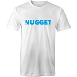Shout Blue T-Shirt - White - Nugget Industries