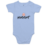 Cheeky Nugget Romper - Powder Blue - Nugget Industries