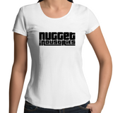 GTA Scoop Neck Tee - White - Nugget Industries