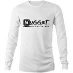Signature Long Sleeve T-Shirt - White - Nugget Industries