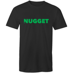 Shout Green T-Shirt - Black - Nugget Industries