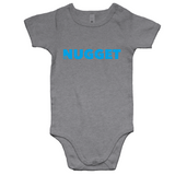 Shout Blue Romper - Grey Marle - Nugget Industries
