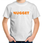 Shout Orange Kids T-Shirt - White - Nugget Industries