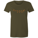 Shout Orange Crew Neck T-Shirt - Army - Nugget Industries