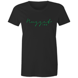 Shout Green Crew Neck T-Shirt - Black - Nugget Industries