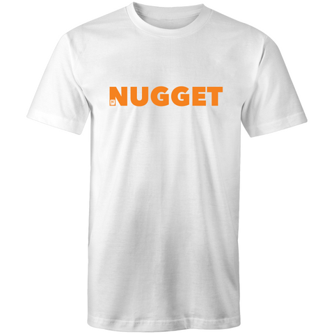 Shout Orange T-Shirt - White - Nugget Industries