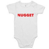 Shout Red Romper - White - Nugget Industries