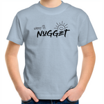 Happy Lil Nugget Kids T-Shirt - Sky Blue - Nugget Industries
