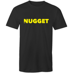 Shout Yellow T-Shirt - Black - Nugget Industries