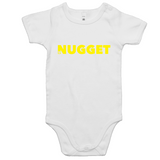 Shout Yellow Romper - White - Nugget Industries