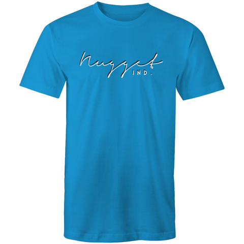 Shout Colour Two Tone T-Shirt - Arctic Blue - Nugget Industries