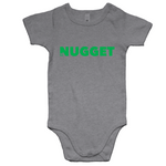 Shout Green Romper - Grey Marle - Nugget Industries