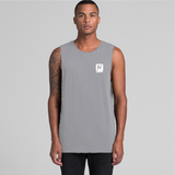 Logo Tank - Grey Marle - Nugget Industries