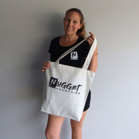 Nugget Industries Canvas Tote Bag -  - Nugget Industries