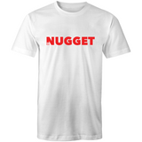 Shout Red T-Shirt - White - Nugget Industries