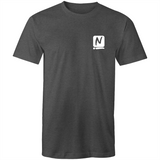 Luxe T-Shirt - Asphalt Marle - Nugget Industries