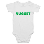 Shout Green Romper - White - Nugget Industries