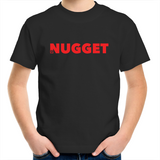 Shout Red Kids T-Shirt - Black - Nugget Industries