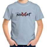 Naughty Nugget Kids T-Shirt - Sky Blue - Nugget Industries