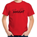 Happy Lil Nugget Kids T-Shirt - Red - Nugget Industries