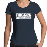 GTA Scoop Neck Tee - Navy - Nugget Industries