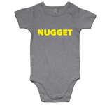 Shout Yellow Romper - Grey Marle - Nugget Industries