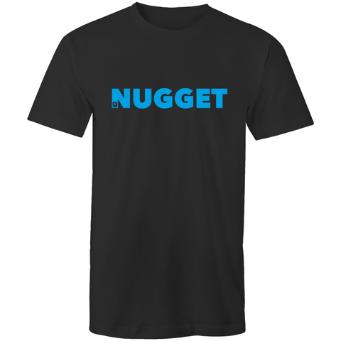 Shout Blue T-Shirt - Black - Nugget Industries