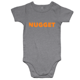 Shout Orange Romper - Grey Marle - Nugget Industries