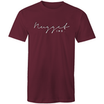 Shout Colour Two Tone T-Shirt - Burgundy - Nugget Industries
