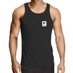 Lowdown Singlet - Black - Nugget Industries